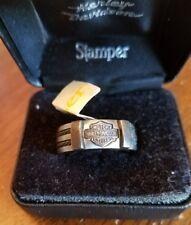 #395 NWT Harley-Davidson men's Stamper titanium ring, size