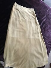 DKNY PURE Ankle Length Suede Skirt Vintage