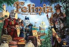 Felinia [With 4 Player Boards, 4 3D Ships, 40 Traders and Gameboard and Rule Boo