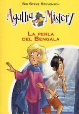La perla del Bengala Agatha Mistery vol. 2 De Agostini LIBRO Nuovo Stevenson