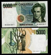 5000 Lire Bellini  Lettera  C   FDS