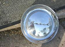 Vintage 1952 Cursive Buick Hubcap Hub Cap Wheel Cover Flying Saucer Good Conditi