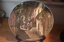 Vintage Royal Doulton Plate Clovelly North Devon T.C.1028 10 1/2 inches