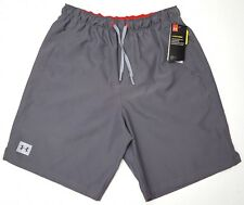5aca49d79c Under Armour UA Mania Volley Boardshorts Swim Trunks Gray Medium M