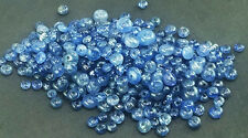 10Ct. NATURAL CERTIFIED BURMA BLUE SAPHIRE ROUND BEADS DRILD SIZE=2--4mm (50pc)