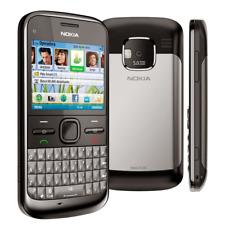 NOKIA E5-00 3G UMTS TELEFONO CELLULARE USATO GRADO B NERO WIFI BLUETOOTH MICRO S