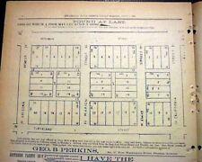Rare 19th Century PHOENIX AZ Maricopa County ARIZONA Territory 1895 Newspaper