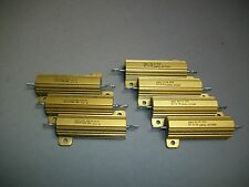 Mixed Lot of 7 Dale Resistors RH-50 - New