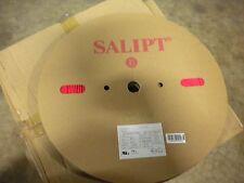 """Salipt Heat Shrink Tubing 2:1, Red 2.5mm (3/32"""") wide x 200m (656ft) long reel"""