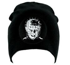 Pinhead Hellraiser Beanie Knit Cap Occult Horror Clothing Cenobite Gothic Punk