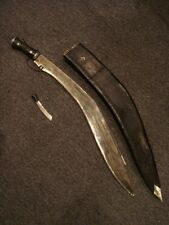 "Impressive 29"" Long Antique Gurkha Kukri Fighting Knife Handsome Old Weapon"