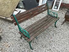 More details for garden bench / bench ends / patio furniture / benches / outdoor / raclaimed cast