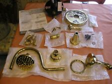 Danze pressure Balance Tub And Shower Faucet set and sheridan sink set,all brass