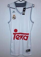 Camiseta Jersey Real Madrid España Baloncesto Adidas Bnwt Talla S