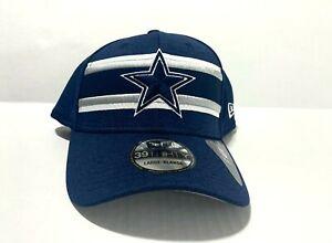 Dallas Cowboys New Era  Stripes Navy 39Thirty Flex Fit hat cap L/XL