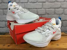 NIKE MENS UK 7 EU 41 SIGNAL D/MS/X  WHITE RED TRAINERS RRP £115 LG