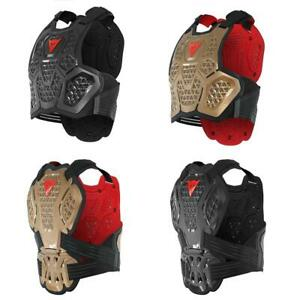 Dainese MX3 Roost Guard Motocross Body Armour Trials MX Protectors Black Copper