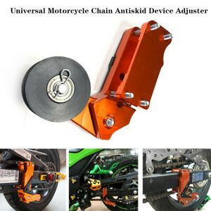 CNC Universal Motorcycle Antiskid Adjuster Large Chain Automatic Regulator Part