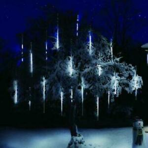 Premier 5 x 20cm 60 White LED Indoor And Outdoor Snowing Shower Lights