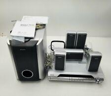 Sony DAV-DX255 DVD Home Theatre System Speaker Movie Antenna Surround Sound Manu