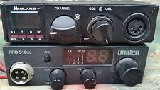 2 MIDLAND  CB Radio Transceiver Model 77-104 & UNIDEN PRO 510 XL LOT 2