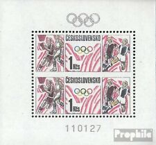 Slowakije Blok 75 postfris 1988 Games