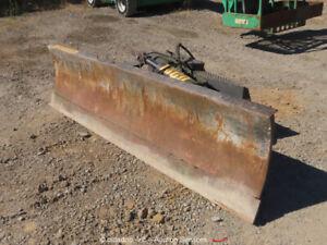 "Grouser Products 1300 Hydraulic 6-Way Skid Steer 96"" Blade Attachment bidadoo"