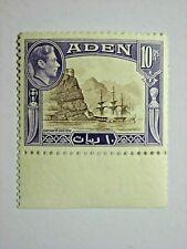 ADEN 1939 GVI 10 rupee DEFINITIVE MSCA FINE MNH SG27