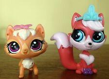 LPS Littlest Pet Shop Kitery Banter (Cat) & Kora Solis (Fox)