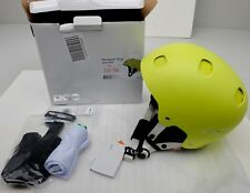 New POC Receptor Bug Hexane Yellow Medium 55/56 Adjustable Helmet Free Shipping