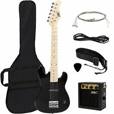 "New Best Choice Products 30"" Kids Electric Guitar Kit w/ 5W Amp (Black)"