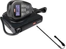 GME TX3350 80CH 5W UHF LCD MIC RADIO+AXIS CH5T 5DB 720MM FIBREGLASS ANTENNA