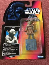 Kenner STAR WARS Yoda Backpack Power Of The Force Red Orange Card figure Euro