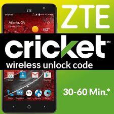 1-60 Minutes - ZTE Grand X 4 Z956 NETWORK UNLOCK CODE LOCKED TO CRICKET WIRELESS
