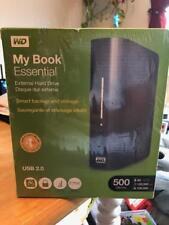 NEU Western Digital My Book Essential 500 GB USB 2.0 Desktop externe Festplatte