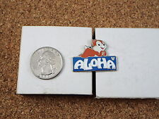 DISNEY PIN CHIPMUNK ALOHA HIDDEN MICKEY # 5 OF 5