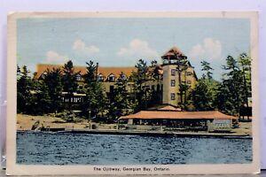Canada Ontario Georgian Bay Ojibway Postcard Old Vintage Card View Standard Post