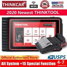 Thinktool All System OBD2 TPMS Diagnostic Scanner Bidirectional Key ECU Coding