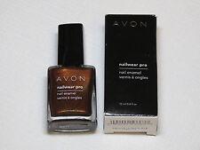 Avon NailWear Pro Nail Enamel Deluxe Chocolat 12 ml 0.4 fl oz polish mani pedi;;