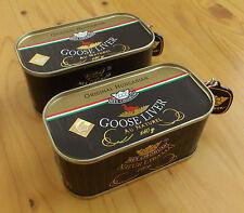 Hungarian Goose Liver au naturel 2x140g/ 2x4.9 oz 91% Foie Gras content