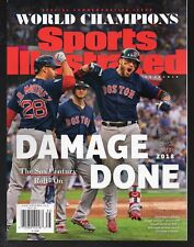 Sports Illustrated 2018 World Series Champions Boston Red Sox Pearce Newsstand