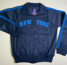New York Girls Full Zip Jacket Navy Blue All Sizes