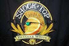 """New Shock top Belgian White Beer Neon Light Sign 24""""x20"""""""