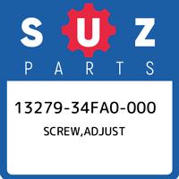 13279-34FA0-000 Suzuki Screw,adjust 1327934FA0000, New Genuine OEM Part