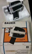 BAUER C3 SUPER MOVIE CAMERA