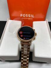 Fossil Gen 4 Venture HR Smartwatch 40mm Stainless Steel Rose Gold FTW6011