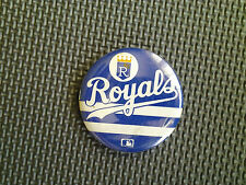Vintage Kansas City Royals MLB baseball pin Button 2 1/4 inch diameter