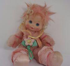 "Vintage Wonder Whims  plush stuffed pink doll Raindrop 16"""