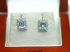 Topaz Stud Natural Not Enhanced Fine Earrings