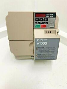 Yaskawa CIMR-VU4A0011FAA, V1000,  7.5HP, 3-Phase, 380-480V,11A, VFD